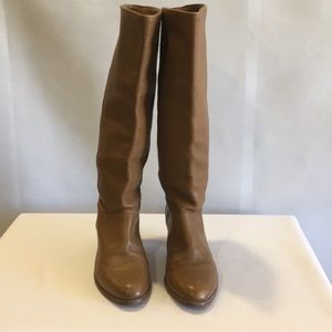 FRYE Leather Pull On Boots